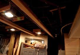 unfinished basement lighting. Amazing Unfinished Basement Lighting Ideas