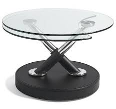 glass table tops that twist and swivel