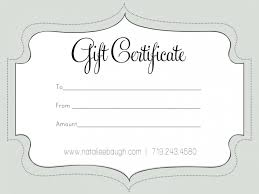 Fillable Gift Certificate Template Free Custom Certificate Templates Clipart Images Gallery For Free