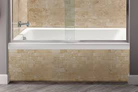 appealing american standard tub with fold over edge offers elegant solution picture for tile watchung nj