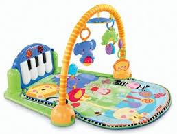 fisher kick play piano gym