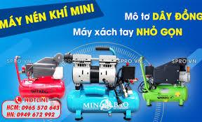 Máy nén khí mini - máy bơm hơi mini xách tay giá rẻ