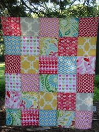 TEXTILE TROLLEY: How to make a patchwork baby blanket (no quilting ... & The finished blanket. Check out the shop for other blankets....this one  sold! http://www.etsy.com/shop/TextileTrolley Adamdwight.com
