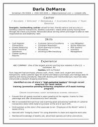 New Resume Sample Awesome Cashier Resume Sample Davidhowald Com
