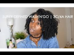 Wash And Go Hairstyles 50 Stunning Super Defined Wash'n'Go 224c24a Hair YouTube