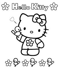 Disegno Hello Kitty Numero 3 Da Stampare E Colorare