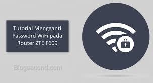 Karena alasan untuk mengamankan modem indihome, terkadang ketika kita mengganti default password admin modem zte f609 atau password admin berubah sendiri. Tutorial Mengganti Password Wifi Pada Router Zte F609