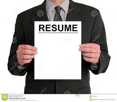 Presentation Resumes Businessman Presentation Resume Stock Photo Image Of Resumes