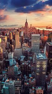 New York, Manhattan, city, skyscrapers ...