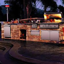 Outdoor Kitchen Gas Grill Dcs 48 Inch Natural Gas Bbq Grill Bgb48bqarn Built In