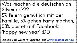 Was Machen Die Deutschen An Silvester5 Feiern Gemütlich Mit Der