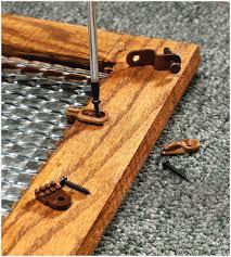cabinet door glass retainer clips