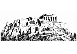 Kleurplaat Acropolis Afb 13207 Images