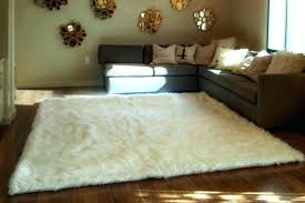 faux sheepskin rug incredible bedroom faux fur sheepskin area rug white round free throughout white faux sheepskin rug sheepskin rug for baby nz