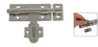 2018 Hardware Door Lock Barrel Bolt Latch Padlock Clasp Set From