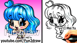 Small Picture Katy Perry Chibi Drawing Tutorial Super Cute Fun Popular