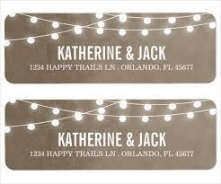 Wedding Return Address Label Templates Demireagdiffusion Fascinating Address Label Templates