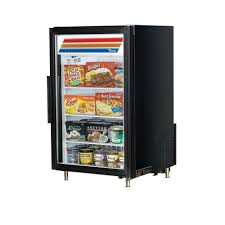 true gdm 7f ld 1 swing glass door countertop merchandiser freezer 7 cu ft
