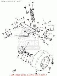 Yamaha golf cart engine diagram yamaha g1 e2 golf car 1981 front suspension wheel