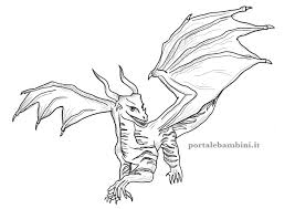 How to play the game coloring book. Dragon Coloring Pages Free To Print Portale Bambini