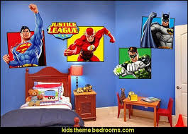 wall decals superheroes bedroom ideas