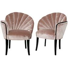 modern art deco furniture. pair of 1920u0027s art deco shell back boudoir chairs modern furniture o