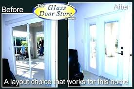 replacement sliding glass door cost to replace fancy patio awesome can you track parts l