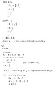 the rs aggarwal class 7 solutions chapter 7 linear equations in one variable can be found below