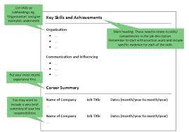 Job Skills For Cv Alternative Cv Formats Functional Or Skills Based Cvs Lse