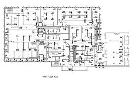 architectural engineering. A First-floor Plan Designed By The Design Calculations Team Building In Doha, Architectural Engineering