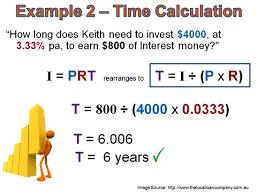 Simple Interest Part One Passys World Of Mathematics
