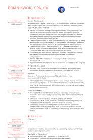 Senior Accountant Resume Senior Accountant Resume Samples Visualcv Database How To List