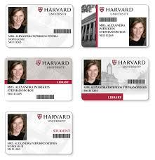 — Harvard Axelrod University Design Id Melissa Card