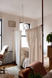 New York Ds Ikea Bedroom Shabby Chic Style With Bed Curtains