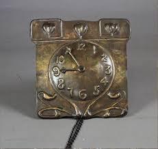 photos brass arts and crafts wall clock c1900 antique wall clocks clock arts and crafts