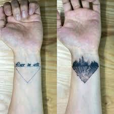тату в стиле минимализм фото Popular4youcom татуировки тату
