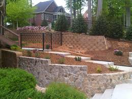 aluminum fencing for steep hills or sloped lots