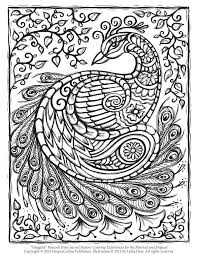 Small Picture Free Peacock Adult Coloring Page Craftfoxes