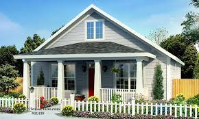 small cottage house plan with walk in closet and kitchen island