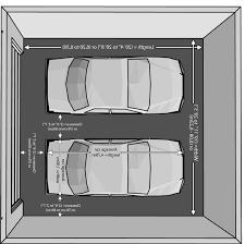 Double Garage Plans U0026 Designs U2022 Versatile Homes U0026 BuildingsDouble Car Garage Size