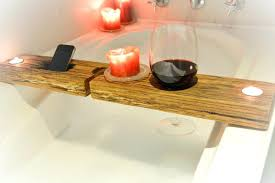 bathtub wine holder bathroom handmade bathtub wine holder designs surprising wooden bath tray wood on bathroom