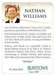 Free Funeral Announcement Templates Fresh Template Memorial Of Best ...