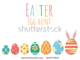easter egg hunt template easter egg vector collection download free vector art stock