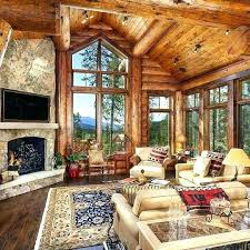 Log Homes Interior Designs Interior