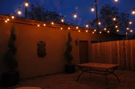 Decorations:Outdoor Patio String Lighting Idea Feminine Outdoor Globe String  Lights Idea