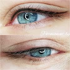перманентный макияж татуаж век и глаз в минске фото цены отзывы