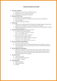 9 Business Plan Layout Coaching Resume