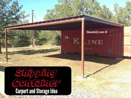 s16 hero. Shipping Container Carport and Storage Idea