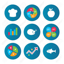 Growth Of A Chicken Chart Business Pie Chart Growth Curve Presentation Buttons Food