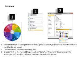 Chart Rotation Wheel Rotation Chart Eight Steps Ppt Powerpoint Slides